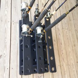 Deep Drop Rod Holder For 18 Big Game Rods and Reels