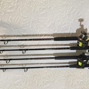 Ceiling Mount Rod Holder For Six Big Game Offshore Rods