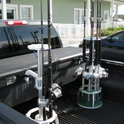Transport Fishing Rod Rack For Eight Rods And Reels