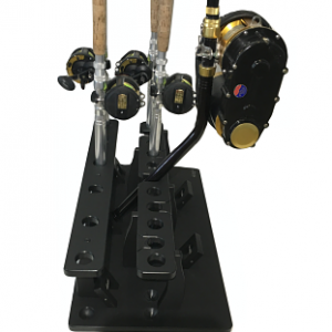 Big Game Rod Rack Plus A Curved Butt Rod Holder