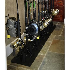Bent Butt Rod Rack For 5 Plus a Rod Rack For 11 Big Offshore Rigs