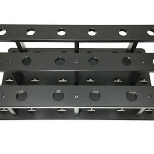 Boat Rod Rack With Pins To Lock Rods Into Position So Reels Won't Get Damaged